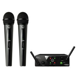 Image for WMS40 Mini Dual Vocal Wireless Microphone Set from SamAsh