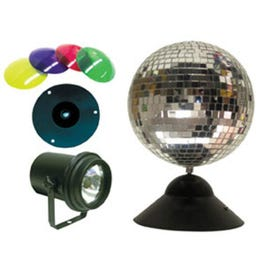 Image for MB8 Instant Mirror Ball Lighting Effect Package from SamAsh