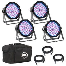 American DJ Mega Flat Pak Plus Lighting Package