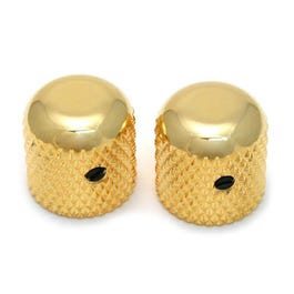 Image for MK-0110-002 Gold Dome Knobs