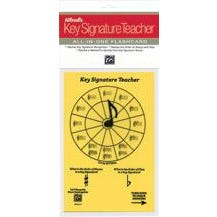 Alfred Alfred's Key Signature Teacher: All-In-One Flashcard (Yellow)