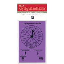Alfred Alfred's Key Signature Teacher: All-In-One Flashcard (Purple)