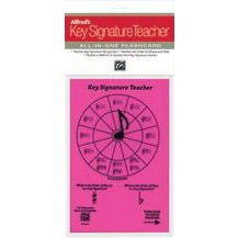 Alfred Alfred's Key Signature Teacher: All-In-One Flashcard (Pink)