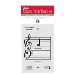 Alfred Alfred's Music Note Teacher: All-In-One Flashcard (White)