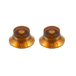 Image for PK0140022 Bell Knobs (Set of 2) (Amber) from SamAsh