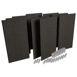 Auralex ProPanel ProKit-1 Acoustical Room Treatment System, Obsidian