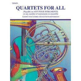 Alfred Quartets for All-Violin Book