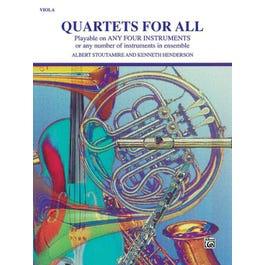Quartets for All-Viola Book