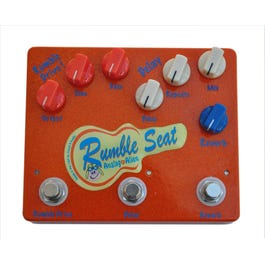 Image for Rumble Seat Drive Delay Reverb Guitar Effects Pedal from SamAsh