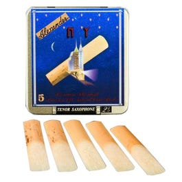 """Image for """"NY"""" Tenor Sax Reeds Box of 5 (Assorted Sizes) from SamAsh"""