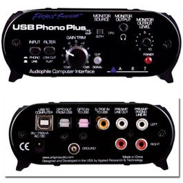 Image for USB Phono Plus Turntable Preamp from SamAsh