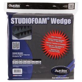 Auralex Studiofoam Wedge Panels, Pair, Charcoal