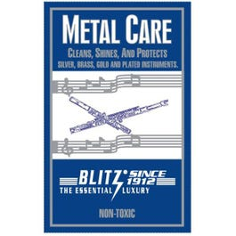 Image for Metal Care Polishing Cloth for Plated or Unlacquered Instruments from SamAsh