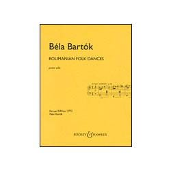Image for Bartok Roumanian Folk Dances Revised Edition (Piano) from SamAsh