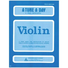 Image for A Tune A Day Beginning Scales for Violin Book 1 from SamAsh