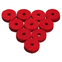 Image for Natural Wool Cymbal Felts (10-Pack) from SamAsh