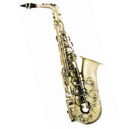 Image for 400 Series Professional Alto Saxophone in (Brass Matte Finish) from SamAsh
