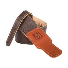 "Boss BSL 2.5"" Premium Leather Guitar Strap, Brown"