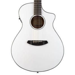 Image for Discovery Concert Satin White CE Acoustic-Electric Guitar from SamAsh