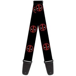 "Buckle-Down 2"" MARVEL DEADPOOL Logo Guitar Strap"