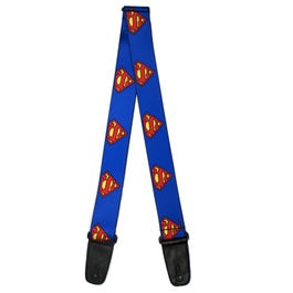 "Buckle-Down 2"" Superman Shield Guitar Strap"