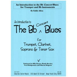 Image for Intro To Bb Blues for Tenor Saxophone from SamAsh