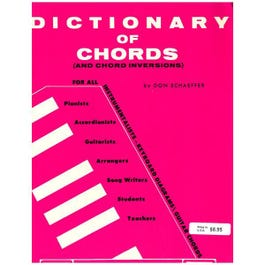 Image for Schaeffer: Dictionary of Chords from SamAsh