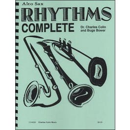 Charles Colin Charles Colin Bugs Bower: Rhythms Complete for Alto Sax