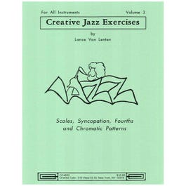 Image for Creative Jazz Exercises Vol 3 for Saxophone from SamAsh