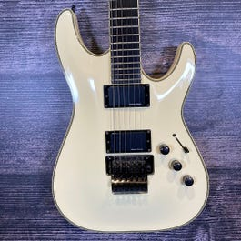 Schecter Blackjack ATX C-1 FR Electric Guitar (White)