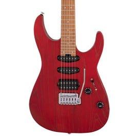 Image for Pro-Mod DK24 HSS 2PT CM Ash Electric Guitar from SamAsh
