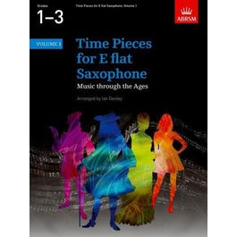 CF Peters Time Pieces for Eb Saxophone Vol. 1 -Piano Score and Part