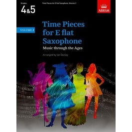 CF Peters Time Pieces for Eb Saxophone Vol. 2 -Piano Score and Part