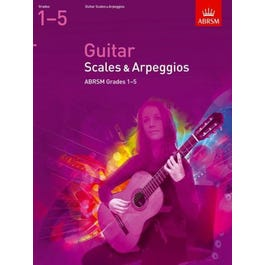 CF Peters Scales and Arpeggios for Guitar Grades 1-5
