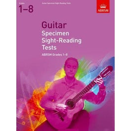 CF Peters Specimen Sight-Reading Tests for Guitar