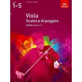 CF Peters Viola Scales and Arpeggios Grades 1-5 (from 2012)