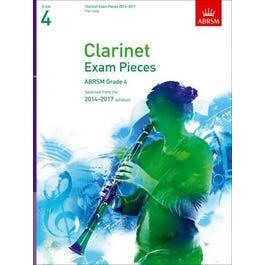 CF Peters Clarinet Exam Pieces 2014-17 Grade 4