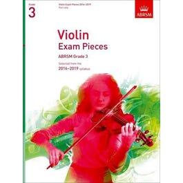 CF Peters Violin Exam Pieces 2016-2019 Grade 3