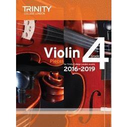 CF Peters ABRSM-Violin Exam Pieces Grade 4 2016-2019 (score & part)