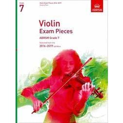 CF Peters ABRSM-Violin Exam Pieces 2016-2019 Grade 7