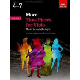 CF Peters More Time Pieces for Viola Volume 2 (Grades 4, 5, 6, & 7)