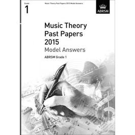CF Peters ABRSM-Music Theory Past Papers 2015 Answers Grade 1