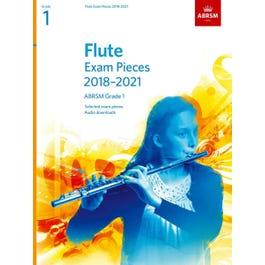 CF Peters ABRSM-Flute Exam Pieces Grade 1 2018 to 2021