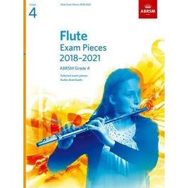 CF Peters ABRSM-Flute Exam Pieces Grade 4 2018 to 2021