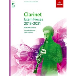 CF Peters ABRSM-Clarinet Exam Pieces Grade 5 2018 to 2021