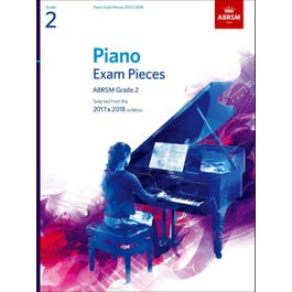 CF Peters ABRSM-Piano Exam Pieces 2017 & 2018 -Grade 2-Book Only