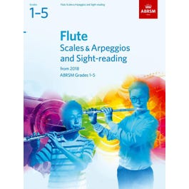 CF Peters Flute Scales & Arpeggios and Sight-Reading Pa