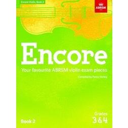 CF Peters Encore Violin, Book 2, Grades 3 & 4
