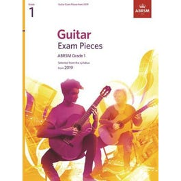 CF Peters Guitar Exam Pieces from 2019 Grade 1 -ABRSM