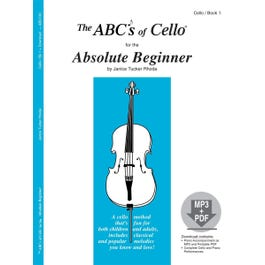 Carl Fischer The ABCs Of Cello for The Absolute Beginner Book 1